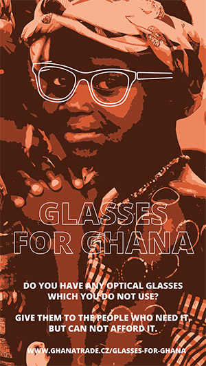 Glasses for Ghana