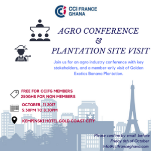 AGRO FRENCH TOUCH CONFERENCE