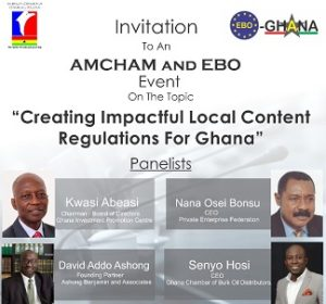 EBO-AMCHAM JOINT BREAKFAST MEETING ON LOCAL CONTENT