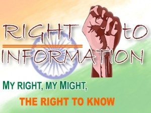 THE RIGHT TO INFORMATION BILL