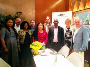 Diplomatická snídaně – Setkání s Její Excelence Virginia Hesse – velvyslankyně Ghanské republiky v Praze