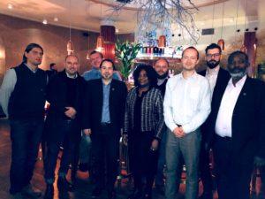 Diplomatická snídaně – Setkání spanem Lukášem Kindlem – I. tajemník – zástupce vedoucí zastupitelského úřadu velvyslanectví České republiky v Akkře